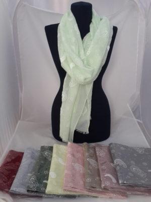 опт краснодар шарф платки косынки палантины зима