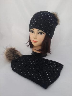 опт краснодар шапки вязка зима ушанки береты