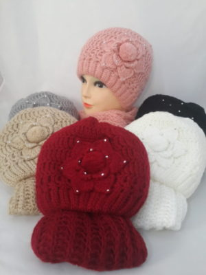 опт краснодар головные уборы береты камплекты шапки