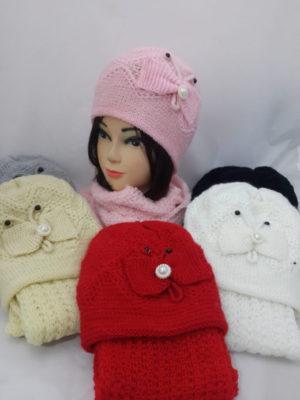опт краснодар шарфы береты шапки комплекты