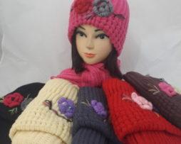 опт краснодар шарфы береты шапки комплект